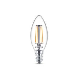 Lampadina LED Philips - Candela LED 4,5W Bianco Caldo 470 Lumen E14