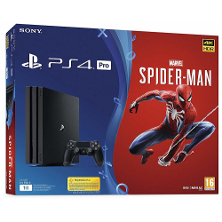 Console Sony - PS4 Pro 1TB chassis B 1000GB Wi-Fi Nero + Marvel's Spider Man