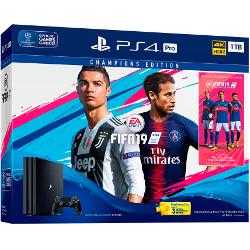 Console Sony - PlayStation 4 Pro 1TB + FIFA 19