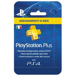 Image of Abbonamento Live PLAYSTATION PLUS CARD HANG 365 DAYS