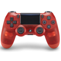 Controller Sony - Dualshock 4 V2 Crystal Red Wireless PS4