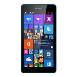 "Smartphone Microsoft Lumia 535 Dual SIM - Smartphone - double SIM - 3G - 8 Go - microSDXC slot - GSM - 5"" - 960 x 540 pixels (220 ppi) - IPS - 5 MP (caméra avant de 5 mégapixels) - Windows Phone 8 - cyan"