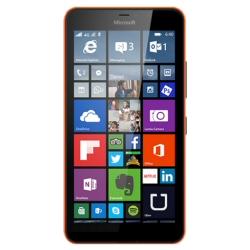 "Smartphone Microsoft Lumia 640 XL LTE Dual Sim - Smartphone - double SIM - 4G LTE - 8 Go - microSDXC slot - GSM - 5.7"" - 1 280 x 720 pixels (259 ppi) - IPS - 13 MP (caméra avant de 5 mégapixels) - Windows Phone 8 - orange"