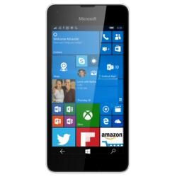 "Smartphone Microsoft Lumia 550 - Smartphone - 4G LTE - 8 Go - microSDXC slot - GSM - 4.7"" - 1 280 x 720 pixels (315 ppi) - 5 MP (caméra avant de 2 mégapixels) - Windows 10 - blanc"