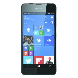 "Smartphone Microsoft Lumia 650 - Smartphone - 4G LTE - 16 Go - microSDXC slot - GSM - 5"" - 1 280 x 720 pixels (297 ppi) - AMOLED - 8 MP (caméra avant de 5 mégapixels) - Windows 10 - noir"
