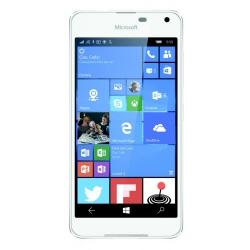 "Smartphone Microsoft Lumia 650 - Smartphone - 4G LTE - 16 Go - microSDXC slot - GSM - 5"" - 1 280 x 720 pixels (297 ppi) - AMOLED - 8 MP (caméra avant de 5 mégapixels) - Windows 10 - blanc"