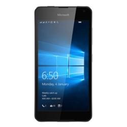 "Smartphone Microsoft Lumia 650 Dual Sim - Smartphone - double SIM - 4G LTE - 16 Go - microSDXC slot - GSM - 5"" - 1 280 x 720 pixels (297 ppi) - AMOLED - 8 MP (caméra avant de 5 mégapixels) - Windows 10"