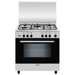 glem gas cucina a gas a855gi forno a gas piano cottura a gas 80 cm