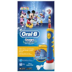 Spazzolino elettrico per bambini Braun - ADVANCE POWER KIDS 111 Mickey Mouse Ricaricabile 1 Modalità spazzolamento