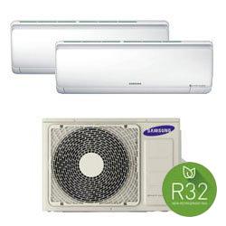 Samsung Dualsplit WindFree 12000 + 9000 btu R32