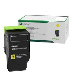 Toner Lexmark - Alta capacità - giallo - originale - cartuccia toner - lrp c232hy0