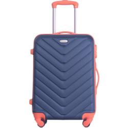 Valigia Smartway - Trolley da cabina, colore blu e arancione 40,5 x 20 x 56,5 cm