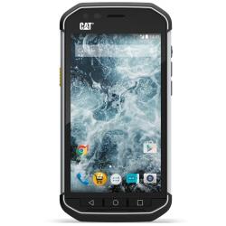 "Smartphone CAT S40 - Smartphone - 4G LTE - 16 Go - microSDHC slot - GSM - 4.7"" - 960 x 540 pixels - IPS - RAM 1 Go - 8 MP (caméra avant de 2 mégapixels) - Android - noir"