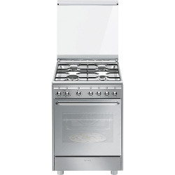 Cx60svpz9 - Cucina a gas Smeg - Monclick - CX60SVPZ9