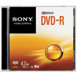 Sony - Dvd-r 16x slim case
