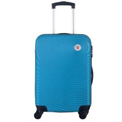 Valigia Smartway - Trolley da Cabina Azzurro con combinazione 40 x 20 x 55 cm