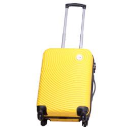 Valigia Smartway - Trolley da cabina, colore giallo 40 x 20 x 55 cm