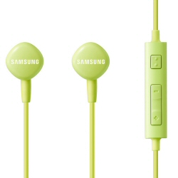 Samsung EO-HS130 - Écouteurs avec micro - intra-auriculaire - jack 3,5mm - vert - pour Galaxy Core Prime VE, Note 10, Note 8.0, S5, Tab 2, Tab 8.9, Tab WiFi, Xcover, Y Duos
