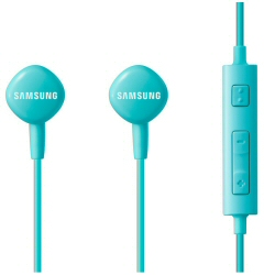 Samsung EO-HS130 - Écouteurs avec micro - intra-auriculaire - jack 3,5mm - bleu - pour Galaxy Core Prime VE, Note 10, Note 8.0, S5, Tab 2, Tab 8.9, Tab WiFi, Xcover, Y Duos