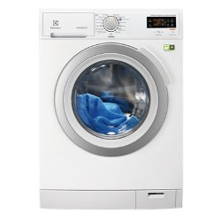 Lave-linge Electrolux EWF1488CDW - Machine à laver - pose libre - largeur : 60 cm - profondeur : 60.5 cm - hauteur : 85 cm - chargement frontal - 8 kg - 1400 tours/min - blanc