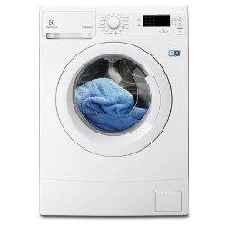 Lave-linge Electrolux EWS1276FDW - Machine à laver - pose libre - largeur : 60 cm - profondeur : 45 cm - hauteur : 85 cm - chargement frontal - 7 kg - 1200 tours/min - blanc