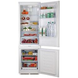 Réfrigérateur encastrable Hotpoint Ariston BCB 31 AA E C O3 - Réfrigérateur/congélateur - intégrable - niche - largeur : 56 cm - profondeur : 56 cm - hauteur : 177.2 cm - 248 litres - congélateur bas - classe A+