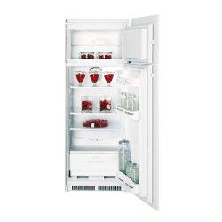 Réfrigérateur encastrable Indesit IN D 2412 V - Réfrigérateur/congélateur - intégrable - niche - largeur : 56 cm - hauteur : 144.6 cm - 226 litres - congélateur haut - classe A+