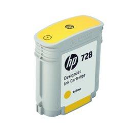 Cartuccia HP - 728 - giallo - originale - designjet - cartuccia d'inchiostro f9j61a