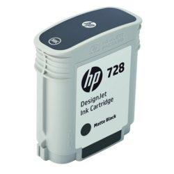 Cartuccia HP - 728 - nero opaco - originale - designjet - cartuccia d'inchiostro f9j64a