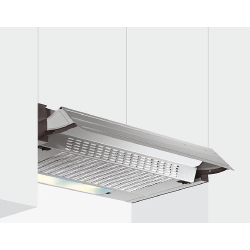 Cappa Glem Gas - GHE600SI Sottopensile 60 cm 172 m3/h Argento