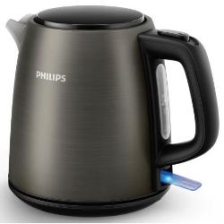 Bollitore Philips - Daily Collection HD9349 2000 W 1 Litri Titanio