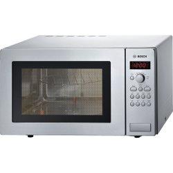 Micro ondes Bosch Serie | 4 HMT84G451 - Four micro-ondes grill - pose libre - 25 litres - 900 Watt - inox