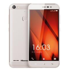"""Smartphone Hisense F31 - Smartphone - double SIM - 4G LTE - 16 Go - microSDXC slot - GSM - 5"""" - 1 280 x 720 pixels - IPS - 13 MP (caméra avant de 5 mégapixels) - Android - argenté(e)"""