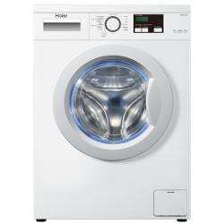 Lave-linge Haier HW60-1211N - Machine à laver - pose libre - largeur : 59.5 cm - profondeur : 45 cm - hauteur : 85 cm - chargement frontal - 6 kg