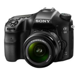 Fotocamera reflex Sony - a68 CON ATTACCO A E SENSORE APS-C + 18-55