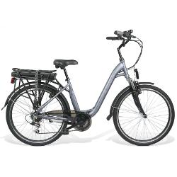 Bicicletta BEBIKE - BeComfort L6S6-G Grigia