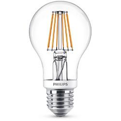 Lampadina LED Philips - Classic Goccia E27, 7.5W (60W), 2700K