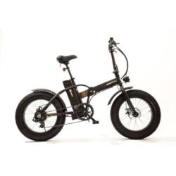 """Bicicletta Smartway - M1 Nero Alluminio 20"""" Ioni di Litio"""