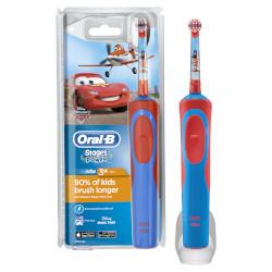 Spazzolino elettrico per bambini Braun - Oral-B Stages Power Disney Cars and Planes Ricaricabile 1 Modalità spazzolamento