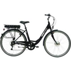 """Bicicletta elettrica Momo Design - Florence 26"""" Nero-Alluminio"""