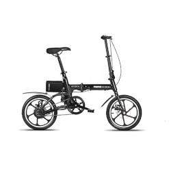 """Bicicletta elettrica Momo Design - New York ruote 16"""" 25 km/h Nero"""