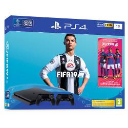 Console Sony - PlayStation 4 1TB + FIFA 19 + secondo DualShock 4