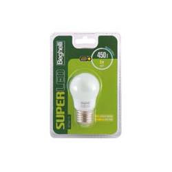 Lampadina LED BEGHELLI - Sfera super led - lampadina led - e27 - 5 w - 6500 k 56895bl