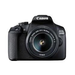 Fotocamera reflex Canon - EOS 2000D BK 18-55 IS + Borsa SB130 +16GB EU26