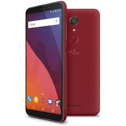 Image of Smartphone View - rosso ciliegia - 4g hspa+ - 32 gb - gsm - smartphone wikvie4gtimchest