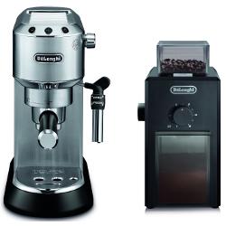 Macchina da caffè De Longhi - Dedica Style EC 685.M con Macinacaffè KG79