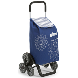 Borsa trolley GIMI - Tris Floral Blu