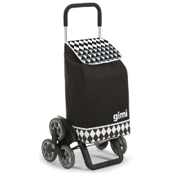 Borsa trolley GIMI - Tris Optical Nero