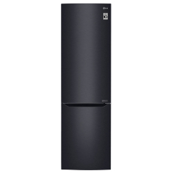 Frigorifero LG - GBB60MCPFS Combinato Classe A+++ 59.5 cm No Frost Nero opaco