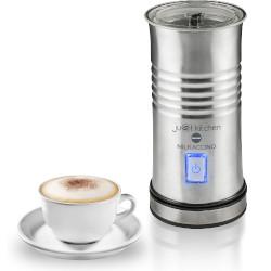 Image of Macchina da caffè Just kitchen milkaccino - montalatte - acciaio spazzolato 867